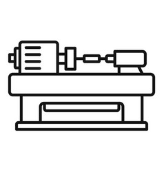 Trim carpentry icon outline style vector