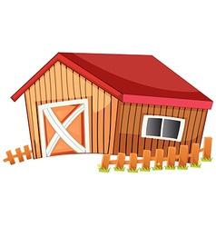 Barn vector image