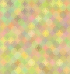 Pastel Geometric Background in Shades of Rainbow vector image vector image
