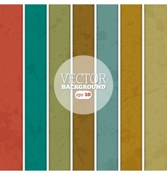 Retro stripe background vector