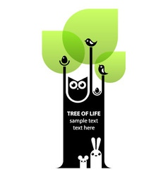 Tree of life concept vector image vector image
