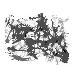 abstract blots splatter artistic background vector image