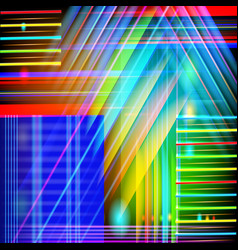 abstract technology-style background with light vector image