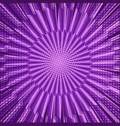 Comic bright purple background vector
