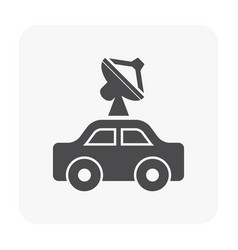 Communication equipment icon vector