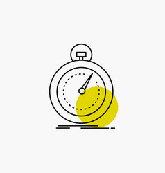 Done fast optimization speed sport line icon vector