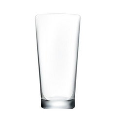 glass white background vector image
