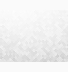 Gray mosaic tile background vector