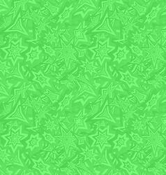 Green seamless star pattern background vector