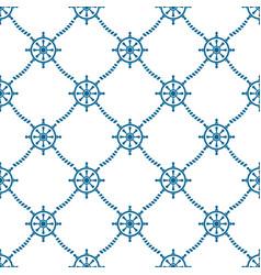 rudderrope pattern vector image