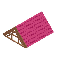 Shingle roicon isometric style vector