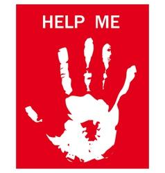 help request vector image vector image