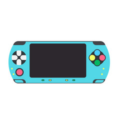 game console video gaming icon controller vector image vector image