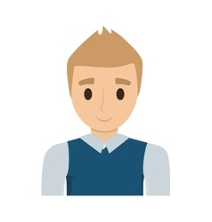 man male avatar isolated vector image vector image