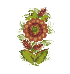magic flower vector image vector image
