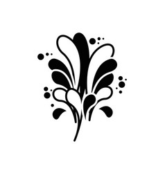Creative paint splash vector