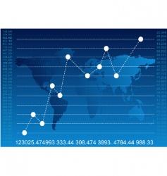 finance report vector image