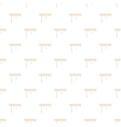 Flowing drop of milk pattern vector