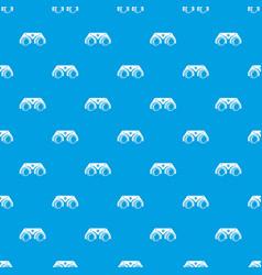medical glasses pattern seamless blue vector image