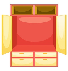 mpty wardrobe vector image