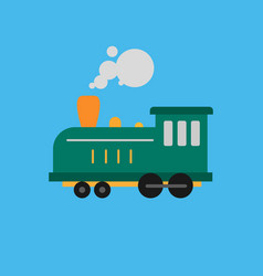 old railway icon set of great flat icons for vector image