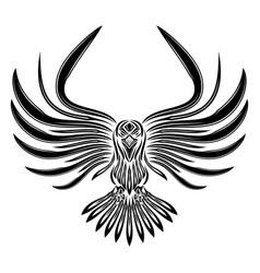 raven 0011 vector image