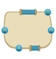 Set of game ui interface screens in sewing stile vector