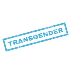 Transgender rubber stamp vector