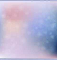 pink blue mesh background and transparent circles vector image