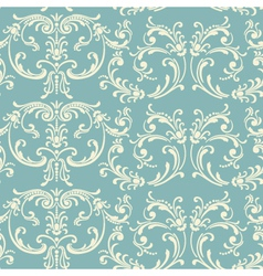 Light floral vintage seamless pattern vector image vector image