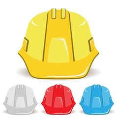 Safety Helmet set vector image vector image