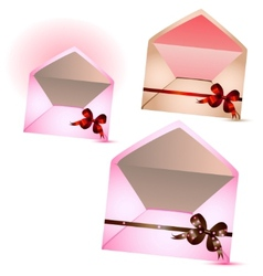 celebratory envelopes vector image