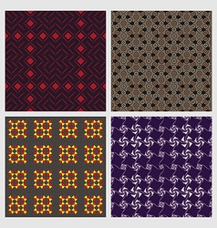 Abstract Seamless Patterns vector