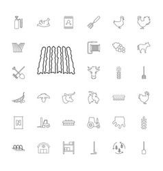 Agriculture icons vector