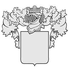aristocratic emblem No39 vector image