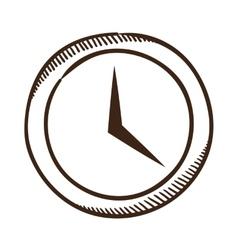 Clock symbol vector image