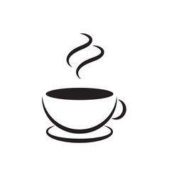 coffee icon graphic design template vector image