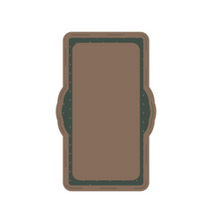 decorative vintage frame and border vector image