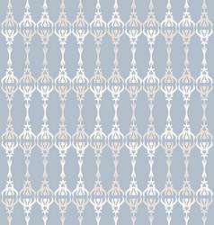 french shabchic trellis stripe vector image