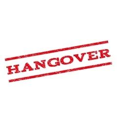 Hangover Watermark Stamp vector