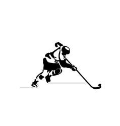 Ice hockey winter sport vector