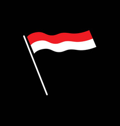 Indonesia independent day vector