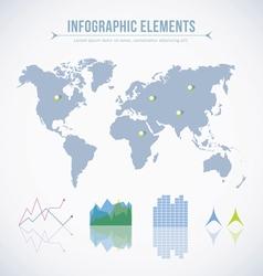 Info graphic elements vector