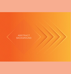 orange color gradient abstract background vector image