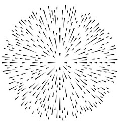 random radial lines explosion effect radiating vector image