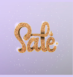 sale 2018 on the background light bokeh can be vector image