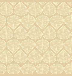 seamless leaves subtle background vector image