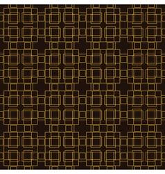 Seamless pattern golden decorative design template vector