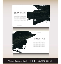 Set of abstract business card with place for your vector image