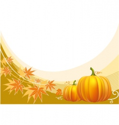 Thanksgiving border vector